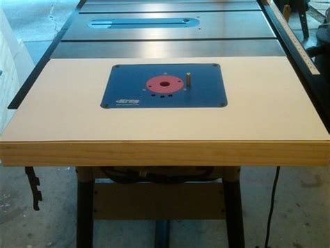 table  router extension delta    ericlew