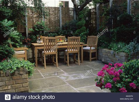 Patio Garden by Small Patio Garden Design Steve Woodham Table York