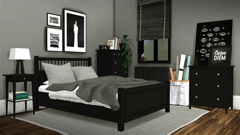 ikea hemnes bedroom by mxims teh sims