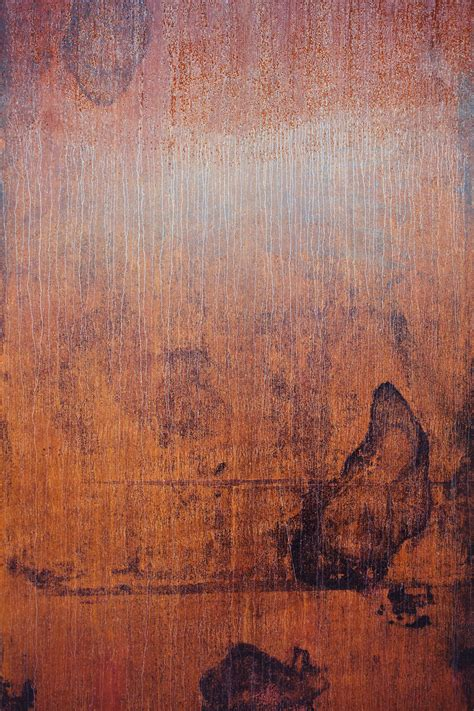 stained rusted metal sheet texture