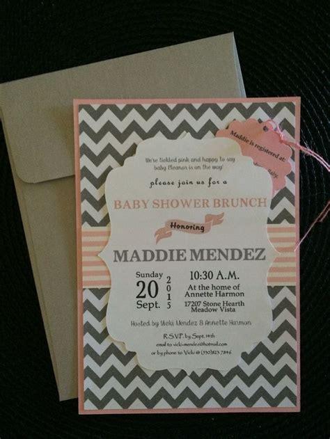 maddies baby shower invitations    cricut