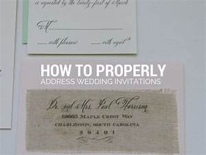 how to properly address wedding invitations gangcraft With return address on wedding invitations wording
