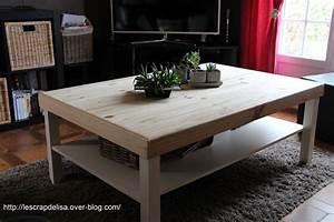 Table Basse Ikea : repeindre une table basse ikea maison et ~ Nature-et-papiers.com Idées de Décoration