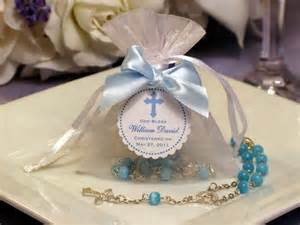 Baptism Christening mini ROSARY in ORGANZA BAG by shadow090109