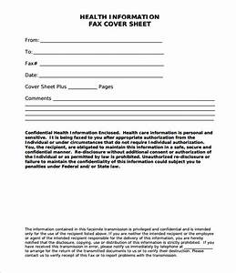 Confidential fax cover sheet free fax cover sheet template for Fax cover sheet medical disclaimer