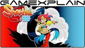 Shantae Half Genie Hero Game Watch Nintendo Switch