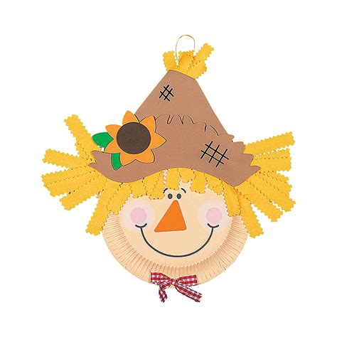 paper plate scarecrow craft kit trading 739 | 48 4580?$VIEWER ZOOM$&$NOWA$