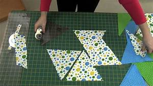 How to cut out triangles for your triangle quilt NEW Sew