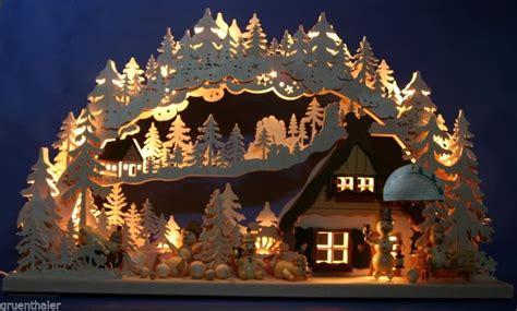 Weihnachtsdeko Holz Erzgebirge by 3d Schwibbogen Erzgebirge Pyramide Geschnitzt