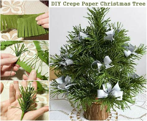 how to make brown paper christmas tree decorations how to make a crepe paper tree pictures photos and images for