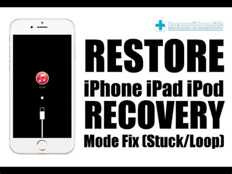 fix ios stuck on recovery mode ios 10 get iphone