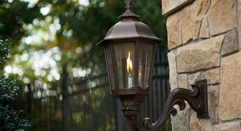 outdoor gas l post propane lights outdoor outdoor leisure propane gas light