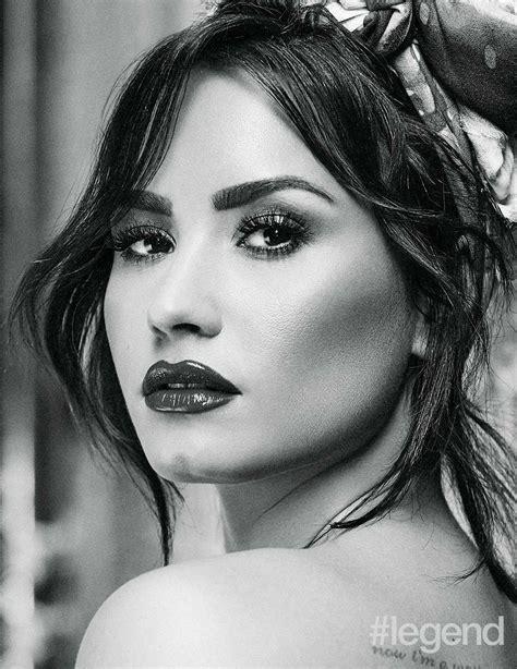 Demi Lovato In Legend Magazine Photoshoot November 2017