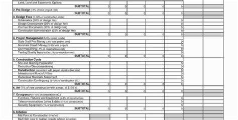 demolition estimating spreadsheet google spreadshee