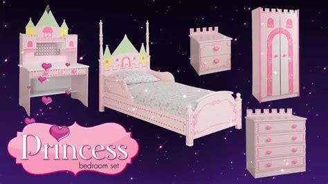 princess castle theme bed bedroom furniture for kids children from little devils direct youtube