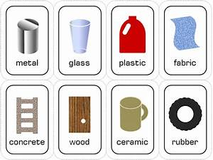 English and science: Materials
