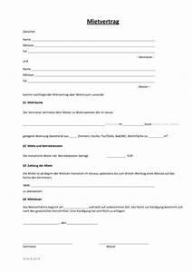 Kündigungsfrist Ohne Mietvertrag : einfacher mietvertrag wo wohnung steuern vertrag ~ Lizthompson.info Haus und Dekorationen