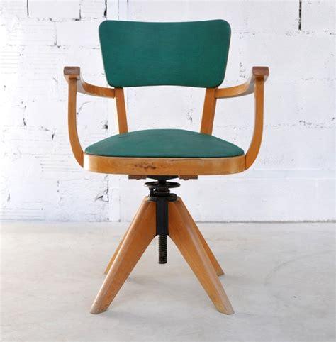 chaise bureau vintage table rabattable cuisine fauteuil bureau vintage