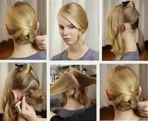 Coiffure Simple Femme : coiffure reveillon femme facile ~ Melissatoandfro.com Idées de Décoration
