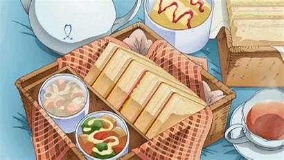 Anime Sandwiches Gifs Eat Someone Bento Dessert