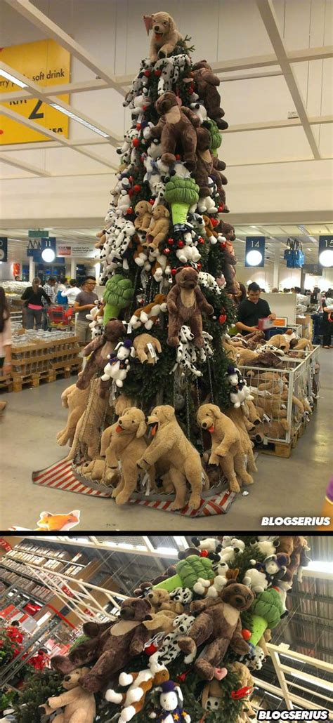 Ikea Molndal Lu Gantung serius serius pokok krismas di ikea mutiara