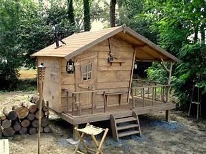 Cabane Pour Poule : cabane des bois sur pilotis maquette et r alisation ~ Premium-room.com Idées de Décoration