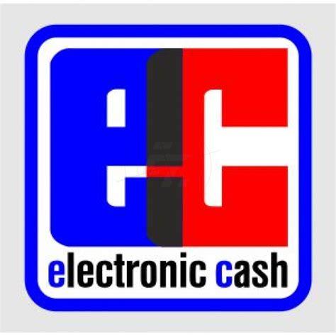 aufkleber electronic cash schaufensteraufkleber und