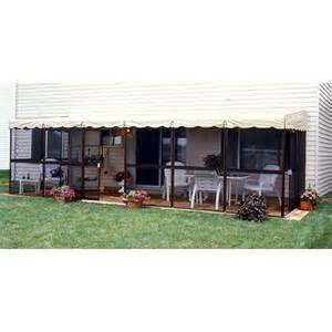 patio mate chestnut 25 6 quot l x 8 6 quot w screened enclosure bj