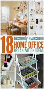 18, Insanely, Awesome, Home, Office, Organization, Ideas