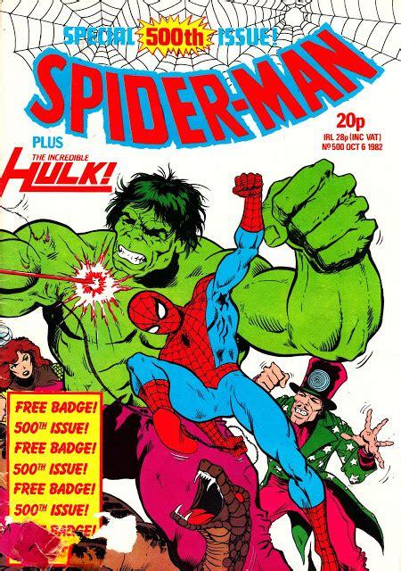 STARLOGGED - GEEK MEDIA AGAIN: 1982: SPIDER-MAN WEEKLY ...