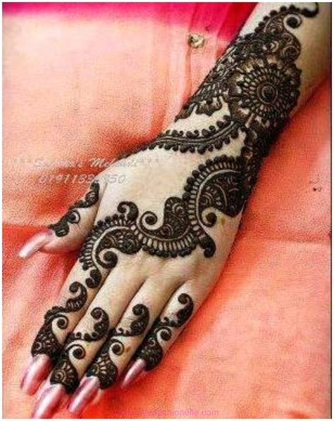 Latest Best Mehndi Designs 2015 For Beginners Pictures to ...