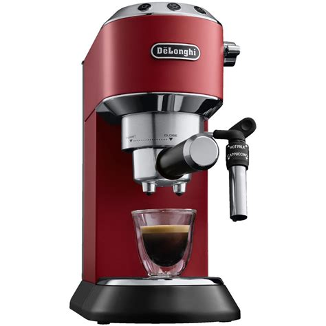 delonghi ec 685 delonghi ec 685 r dedica style espressomaschine siebtr 228 germaschine rot 15 bar ebay
