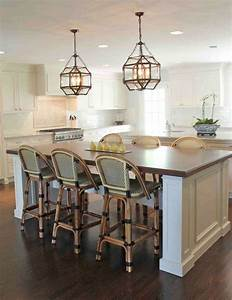 Great pendant lighting ideas to sweeten kitchen island