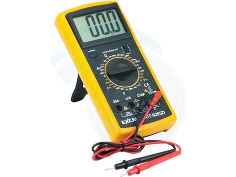 professional digital multitester ammeter voltmeter