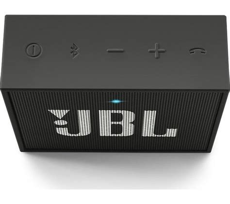 Buy JBL GO Portable Wireless Speaker   Black   Free