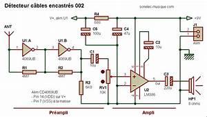 Detecteur De Fil Electrique : electronique realisations detecteur cable encastre 002 ~ Dailycaller-alerts.com Idées de Décoration