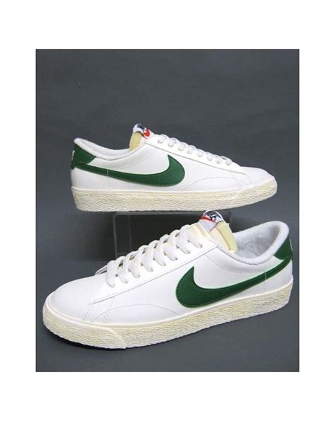 Nike Tennis C by Nike Tennis Classic Ac Trainers White Green Nike Tennis