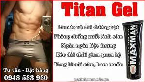 Những bài tập dương vật kết hợp với gel Titan Nga