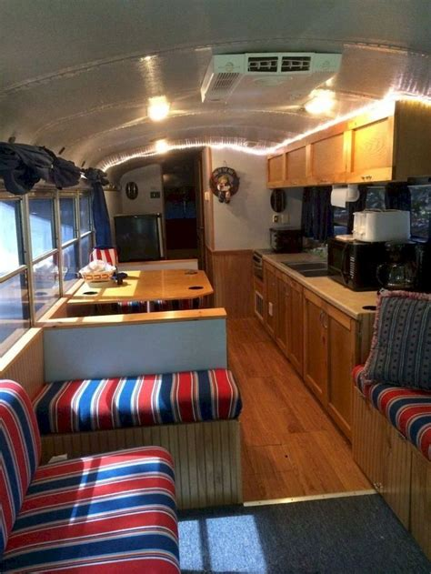 awesome bus campers interior ideas school bus rv bus
