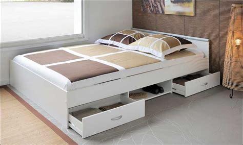 jugendbett mit gästebett und schubladen jugendbett wei 223 mdf gestell mit zwei schubladen und ablagef 228 cher