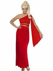Adult Aphrodite Greek Goddess Grecian Fancy Dress Costume ...