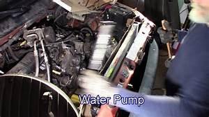 2001 Dodge Ram 1500 5 9 Timing Cover Coolant Leak