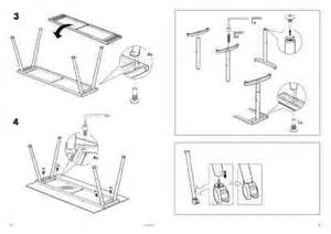 Ikea Galant Desk User Manual by Ikea Galant Glass Table Top Furniture User Guide