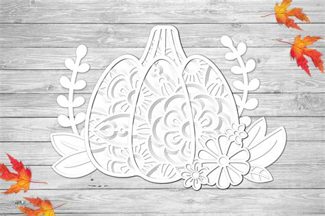 Can't wait to see your creative project of this free svg design! 3D Layered Pumpkin SVG   Fall Multi Layer  Autumn Cut File ...