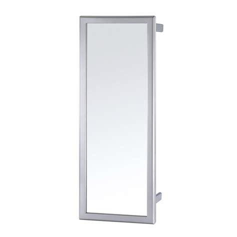 Meuble Salle De Bain Miroir Coulissant by Miroir Coulissant Pivotant Gris H 80 X L 5 X P 30 Cm