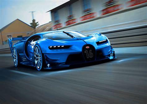 Bugatti Unveils Its Vision Gran Turismo Show Car At