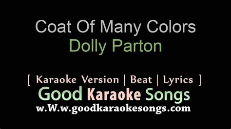 coat   colors dolly parton lyrics karaoke