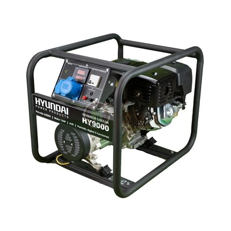 Motor Monofazic 4 Kw Pret by Generator De Curent Hyundai Hy9000 Monofazic Putere 6 5