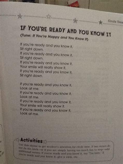 kindergarten chants ideas  pinterest
