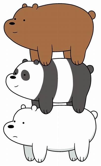 Bears Bare Bear Stack Wikia Panda Background